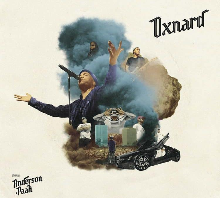 """Anderson .Paak Releases """"Oxnard"""" Featuring Dr. Dre, Pusha T, & More"""