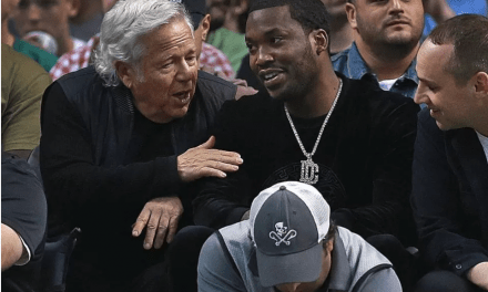 Robert Kraft Is Now Repping A Meek Mill 'Championships' Chain