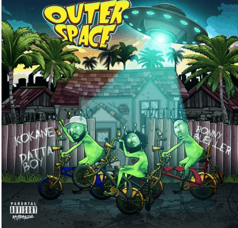 "Datta Boy Drops A Funky Suprise with Ronny Bueller Titled ""Outer Space"""